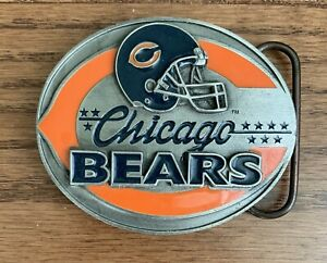 Vintage Chicago Bears Football Limited Edition Belt Buckle - New Old Stock