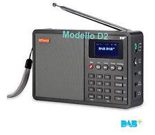 RADIO DAB+ FM INGRESSO AUSILIARIO PRESA CUFFIE MICRO SD DISPLAY A COLORI