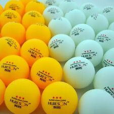 10/30/100pcs 40mm 3-Star Training Table Tennis Ball Entertainment Ping Pong Ball