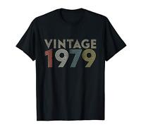 40th Birthday Gift Vintage 1979 T-Shirt Classic Men Women