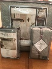Waterford Linens Lismore Quilt Sage Queen With Two Euro Shams