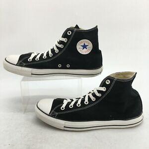 Converse Chuck Taylor All Star Sneakers Men 12 Women 14 Black High Top X9160