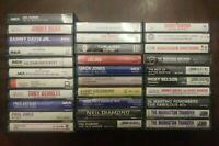BUILD UR OWN Cassette Tape Lot - Pop Vocal Male Crooner Easy Listening 50's 60's