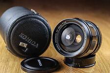 Konica Hexanon AR f2,8/35mm, Konica AR mount, SLR lens. Perfect condition.