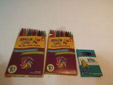 lot 20 mechanical crayons junior artist fine edged & nontoxic crayons box