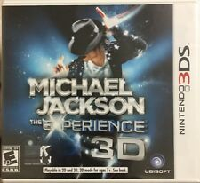 3DS Michael Jackson The Experience Nintendo For 3DS *Brand NEW*