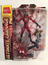 MARVEL SELECT ULTIMATE CARNAGE w GWEN STACY  COLLECTOR FIGURE 2 pc Set NEW  RARE