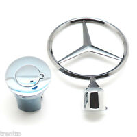 Star Mercedes Benz Emblem Removable Official Anti Theft W123 W124 W126 W201