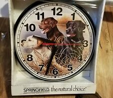 Unique Retriever Dogs Battery Clock