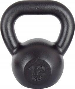 12kg Cast Iron KETTLEBELL Weight Set CrossFit Fitness Kettle Bell Weight Lifting