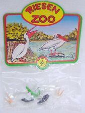 ZZ 1:25 Elastolin ZOO 2x PELICAN Animal FIGURE G Scale Plastic MIB`70 TOP RARE!