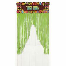 1.37m Tropicale Hawaii Tiki Hut Party Verde Vano Porta Porta Tenda Decorazione