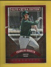 Franklin Barreto RC 2015 Elite Extra Edition Rookie Card # 196 A's Baseball MLB