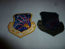 VINTAGE VIETNAM MILITARY PATCHES PATCH LOT OF 2 AIR FORCE COMMUNICATIONS COMMAND