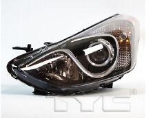 TYC NSF Left Side Halogen Headlight Assy For Hyundai Elantra GT 2013-2016 Models