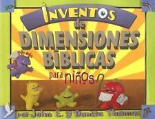 Inventos de Dimensiones Biblicas para ninos/Kid Concoctions of-ExLibrary