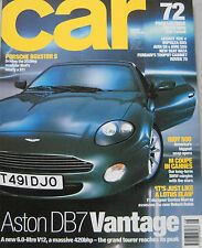 CAR 08/1999 featuirng Audi S8, AMG, Subaru, Aston Marin, Reliant Robin, Porsche