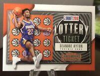 2018-19 Panini Contenders Retail Lottery Ticket Deandre Ayton, Suns