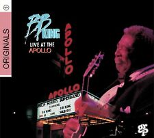 B.B. King Live At The Apollo CD NEW SEALED 2008 Blues