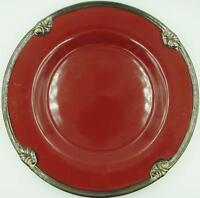 """CERTIFIED INT'L """"Embassy Burgundy"""" Dinner Plate..Near-MINT..FREE Shipping!"""