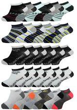 Boys Trainer Socks Childrens School Sports Wear Shoe Liners 6 Pairs Ankle Socks