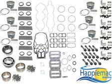 Mercury 3.0L 225 250 HP V6 EFI Carb Powerhead Rebuild Kit Double Roller Bearings