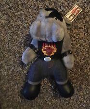 1993 Official Harley Davidson Plush Bulldog Stuffed Dog Tags Vintage Play By