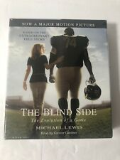 THE BLIND SIDE EVOLUTION OF THE GAME * MICHAEL LEWIS * 5 CD SET 6 HRS * NEW NIB