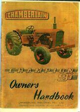Chamberlain Champion 9G operators manual Feb. 1959 photocopy
