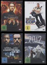 4 DVD Set ILLUMINATI + 2012 + DER KAUFHAUS COP + ENTFÜHRUNG D. U-BAHN PELHAM 123
