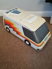 Vintage 1991 Galoob Micro Machines Camper Van Fold Out City Used 3 wheels