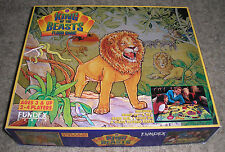 King of the Beasts 1994 Lion/Jungle Floor (Board) Game Fundex COMPLETE/UNPLAYED!