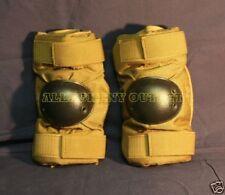 USGI Military USMC Surplus Army Desert Coyote Elbow Pads Medium MINT