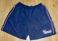 """Nfl-New England Pats.-Microfibre Sports/Casual Shorts-34""""Waist-New- Navy/White"""