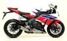 Terminale Indy Race White con fondello Arrow Honda CBR 1000 RR 2014>2016