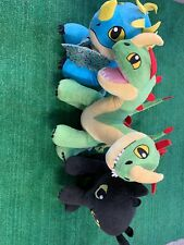 Build A Bear How To Train Your Dragon Lot Of 3 Toothless, Stormfly, Belch & Barf