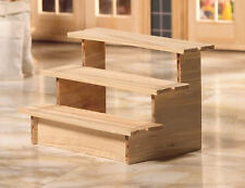 Shop / Garden Display Shelves, Doll House Miniature, 1.12th Scale