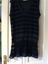 BLUE TOP BY DOROTHY PERKINS, SIZE 14