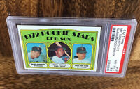 1972 Topps Red Sox Rookies (Garman, Cooper, Fisk) NM-MT+ PSA 8.5 Graded Baseball