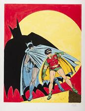 "Batman and Robin by Bob Kane 14 x 11"" Photo Print"