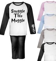 Personalised Mischief Managed Harry Potter inspired Pjs Kids Pyjamas Kids