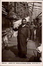London Life. Smithfield Market Porter by Rotary # 10513-32.