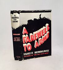 A Farewell To Arms-Ernest Hemingway-Early Printing w/ DJ-G & D Edition-VERY RARE
