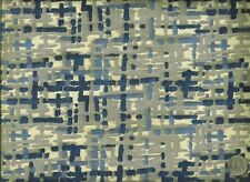 Robert Allen Contract Abstract Cobalt Contemporary Modern Upholstery Fabric