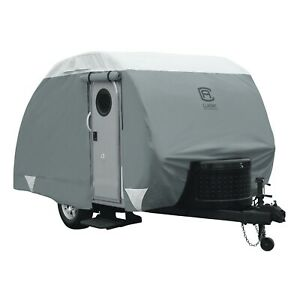 Classic Accessories Over Drive PolyPRO™3 Deluxe Teardrop Trailer Cover, Fits 10'