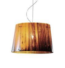 SLAMP lampada a sospensione WOODY ARANCIO by Luca Mazza