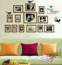 Huge Classic Film Memory Photo Frame Picture Wall Stickers Art Decal Paper Decor