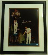 Muhammad Ali Signed 16x20 Framed Photo - 1996 Olympic Torch Ceremony - Atlanta