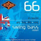 ROTOSOUND RS66LDN NICKEL ROUNDWOUND 4 STRING BASS GUITAR STRINGS 45-105 for sale