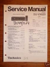 Service Manual technics su-vx620 amplifier, original